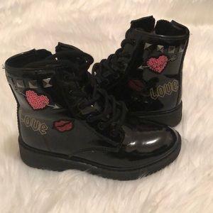 Children's Place Combat Boots